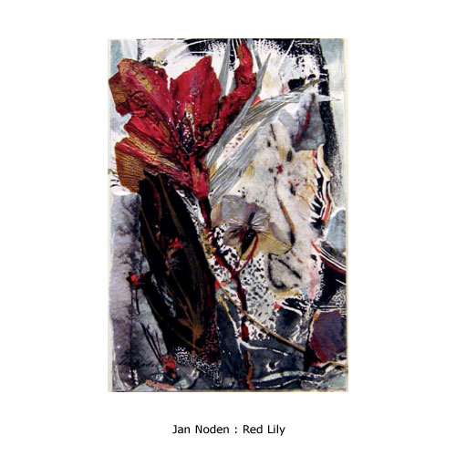 Jan Noden : Red Lily