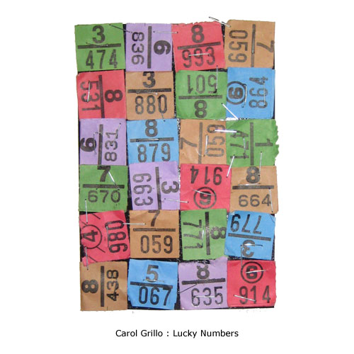 Carol Grillo : Lucky Numbers