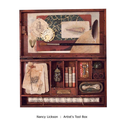Nancy Lickson : Artist's Tool Box